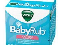 Vicks Baby Rub Nedir? - Faydaları