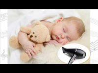 Saç Kurutma Makinesi Sesi ve Bebekler Üzerinde Etkileri- Kaç Desibel